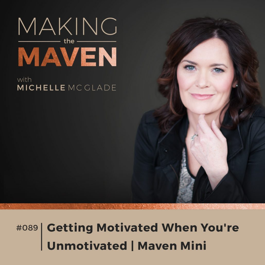 Getting Motivated When You're Unmotivated
