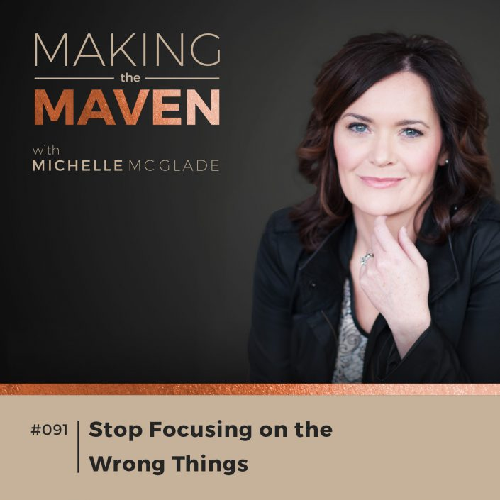 Stop Focusing on the Wrong Things